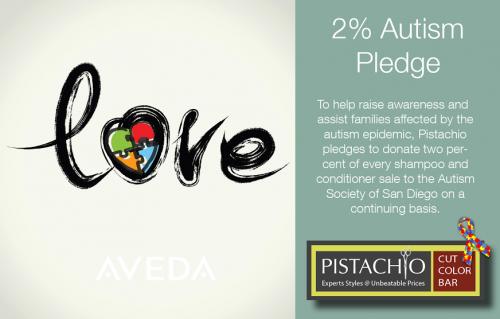 2% Autism Pledge!!