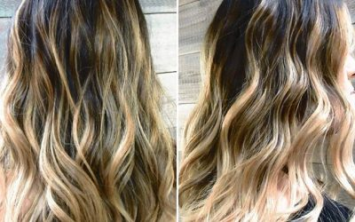 An ombre looks amazing paired with a little bit of texture and curl!