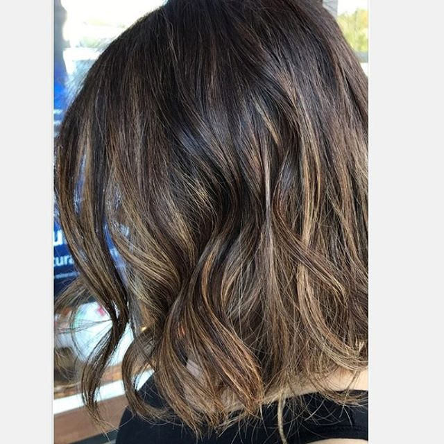 Subtle highlights can make a dramatic difference, adding depth and dimension to your hair!___________________________________#instahair #instabeauty #atthesalon #salonlife #hair #hairspiration #hairsalon #haircolor #hairstyles #hairstyling #haircut #carlsbad #sandiego #sandiegohair #carlsbadhair #aveda #avedacolor #avedaproducts #avedaartist #smellslikeaveda #highlights #sunkissedhair #brunette
