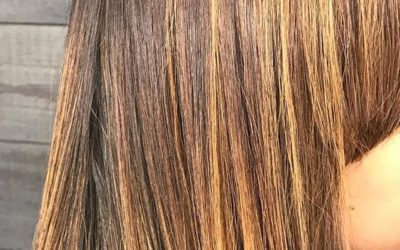Spring is here! Look at this beautiful sun kissed color🧚♀️🌞 Call to book your appointment to get selfie photo ready! 760-230-4880