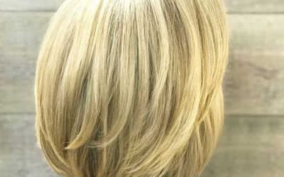 A stunning example of Grey Blending with Demi+! Blend hair that is up to 75% grey, for natural looking coverage that is low maintenance.
