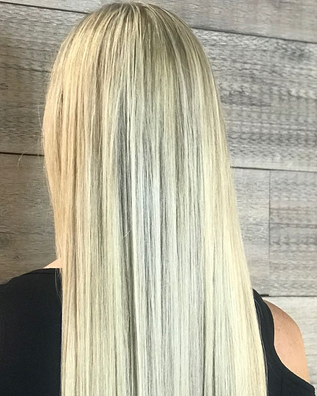A busy Saturday and another beautiful blonde! _______________________________#instahair #instabeauty #atthesalon #salonlife #hair #hairspiration #hairsalon #haircolor #hairstyles #hairstyling #haircut #carlsbad #sandiego #sandiegohair #carlsbadhair #aveda #avedacolor #avedaproducts #avedaartist #smellslikeaveda #highlights #avedademiplus #shinetreatment #avedaglobalartist #hairshine #demiplus #avedashine #blonde #brunette #fashioncolor