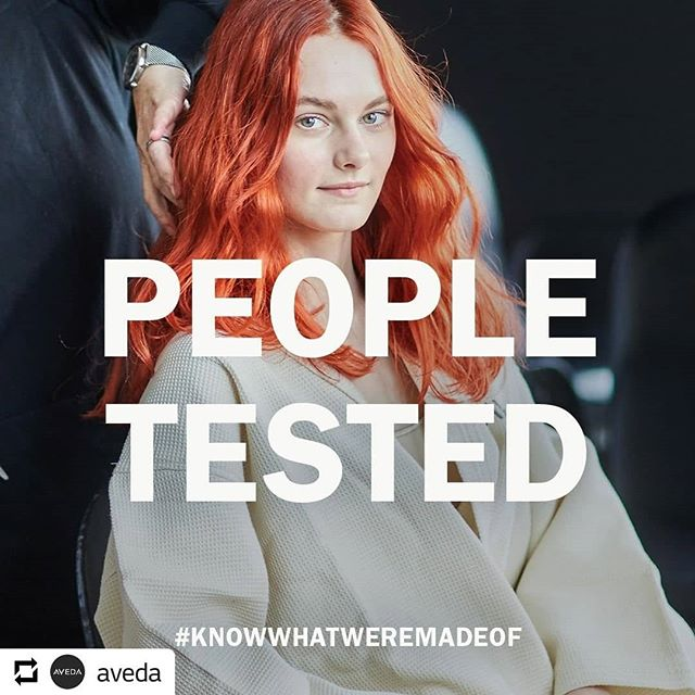 We're a #crueltyfree brand and have been since we were founded back in 1978. We don't test on animals and never ask others to do so on our behalf. #knowwhatweremadeof #avedamission_______________________________#instahair #instabeauty #atthesalon #salonlife #hair #hairspiration #hairsalon #haircolor #hairstyles #hairstyling #haircut #carlsbad #sandiego #sandiegohair #carlsbadhair #aveda #avedacolor #avedaproducts #avedaartist #smellslikeaveda #crueltyfree #botanicals #damageremedy
