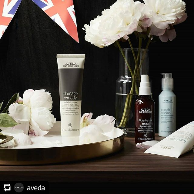 Every bride deserves the royal treatment. Give your hair glam and grace befitting a queen (or a princess!) with some of our #avedaessentials — and don't forget the Hand Relief for those ring pics. #royalwedding _______________________________#instahair #instabeauty #atthesalon #salonlife #hair #hairspiration #hairsalon #haircolor #hairstyles #hairstyling #haircut #carlsbad #sandiego #sandiegohair #carlsbadhair #aveda #avedacolor #avedaproducts #avedaartist #smellslikeaveda #crueltyfree #botanicals #repost @aveda