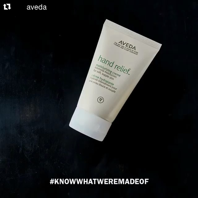 Your hands are thirsty! A little Hand Relief goes a long way. It's 95% naturally derived and intensely moisturizing with help from sunflower, meadowfoam and andiroba oil. _____________________#hair #hairspiration #hairsalon #haircolor #hairstyles #hairstyling #haircut #carlsbad #sandiego #sandiegohair #carlsbadhair #aveda #avedacolor #avedaproducts #avedaartist #smellslikeaveda #autismawareness #autismsupport #autism #demiplus #communitysupport #plazapaseoreal #dimension #knowwhatyouremadeof #handrelief
