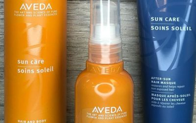 SunCare for your hair! Come get your summer fix to help save your beautiful hair from the harmful effects of UVA/ UVB exposure. Use Aveda Sun Care Hair Veil to prevent color from fading and Sun Care Hair & Body Cleanser to prevent discoloration and remove build up from chlorine/salt water. Finish with your After-Sun Hair Masque to replenish moisture and repair sun-exposed hair. Pistachio has your summer hair care needs covered!