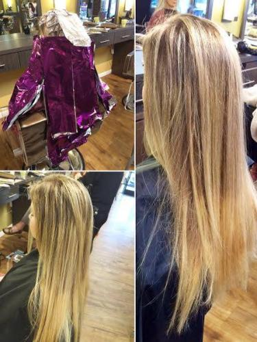 An amazing Balyage highlight done by Blyss!
