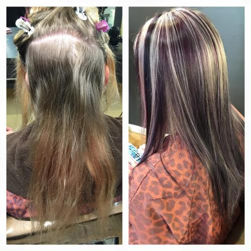 Beautiful and fun transformation by Caroline.
