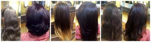 Amazing Before and After work done by Blyss!!!!!