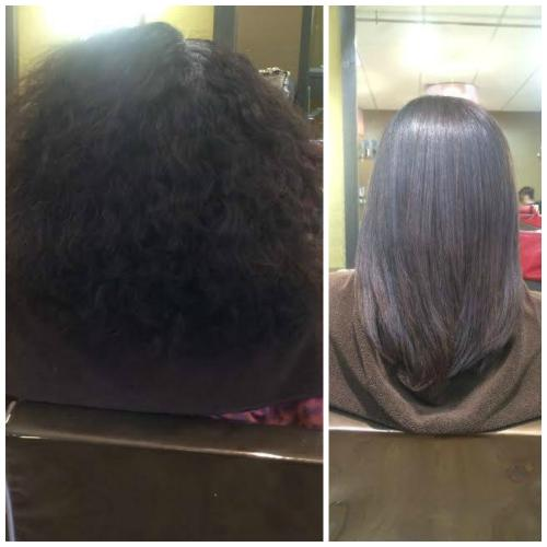Amazing Keratin Blowout!