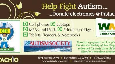 Help Fight for Autism… Donate your Electronics