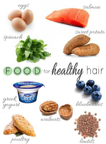 Top Foods to Keep your Hair Healthy