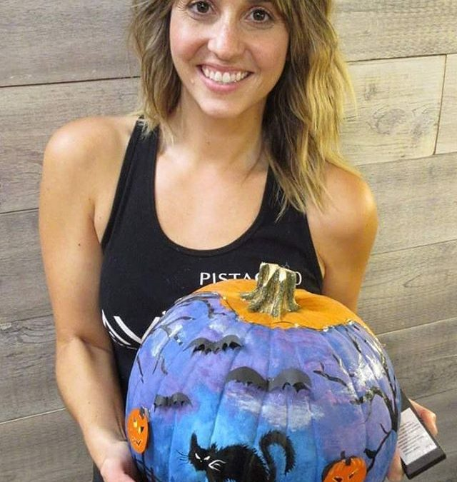 Over 150 votes were cast for our Pumpkin Contest! The winner is… *drum roll*… JESSIE (#3)!!!
