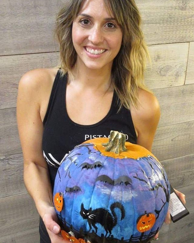 Over 150 votes were cast for our Pumpkin Contest! The winner is... *drum roll*... JESSIE (#3)!!! __________________________________#instahair #instabeauty #atthesalon #salonlife #hair #hairspiration #hairsalon #haircolor #hairstyles #hairstyling #haircut #carlsbad #sandiego #sandiegohair #carlsbadhair #aveda #avedacolor #avedaproducts #avedaartist #smellslikeaveda #pumpkincontest #halloween