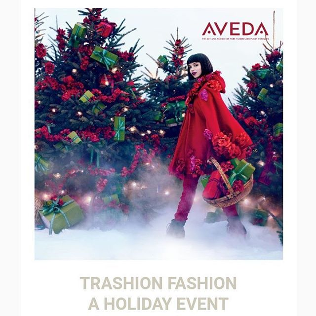 December 16th | 10-2pmCome and see our handmade wearable art by our talented team of Pistachio stylists using recyclable materials!Enjoy treats and take advantage of our once-a-year holiday specials: Hair Package Discounts, Gift Cards on Sale, AVEDA Limited Edition Gift Sets, free AVEDA Scalp Camera Consultation, and free AVEDA Samples!