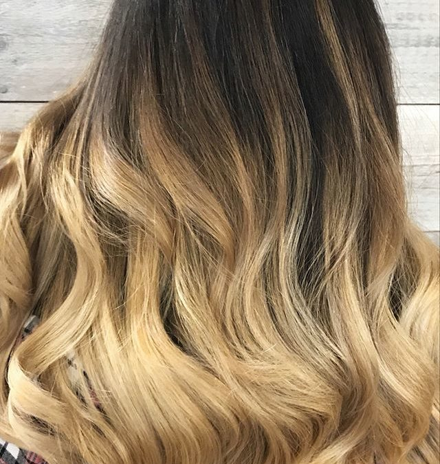 We live for transformations here at Pistachio! Our guest's virgin hair was made lighter and brighter using enlightener, and glazed with Aveda's Demi+!
