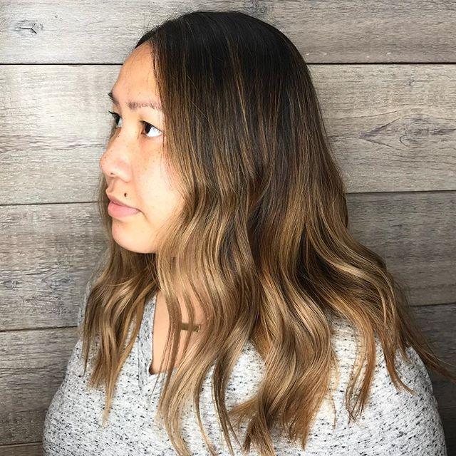 Chocolate Caramel Delight_________________________________#instahair #instabeauty #atthesalon #salonlife #hair #hairspiration #hairsalon #haircolor #hairstyles #hairstyling #haircut #carlsbad #sandiego #sandiegohair #carlsbadhair #aveda #avedacolor #avedaproducts #avedaartist #smellslikeaveda #highlights #avedademiplus #dimension #balayage #damageremedy #aircontrol #brunette