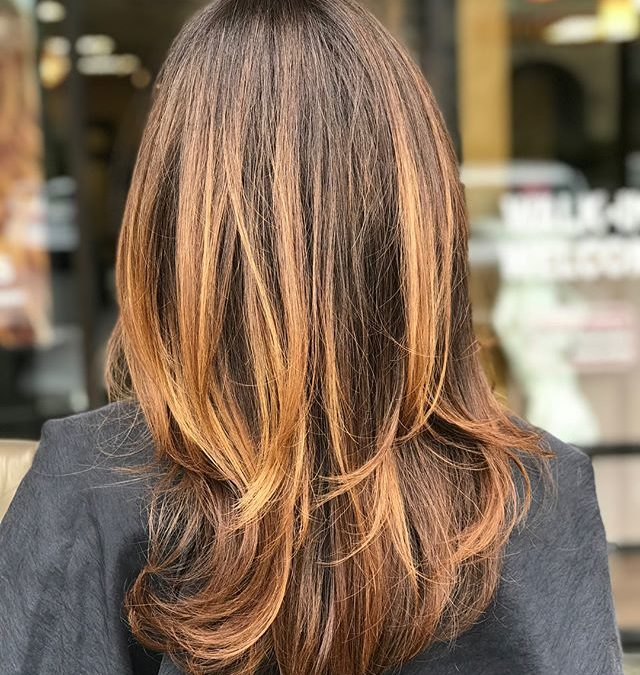 Our newest guest came from another salon in need of a color correction and our Aveda Artists nailed it! Swipe to view the transformation.