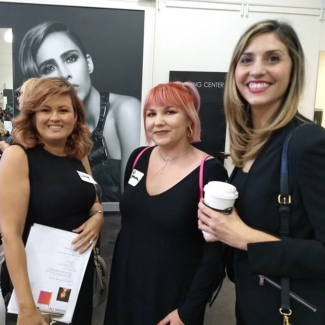 A fun evening meeting new graduates at the Paul Mitchell Academy Career Fair, San Diego.