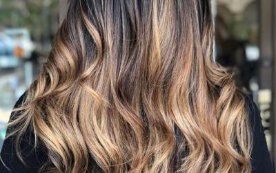 Try not to devour this Hand Painted Chocolate & Toffee Balayage too fast!