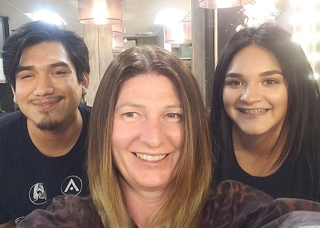 It's hard not to smile after experiencing the Brazilian Blowout! These smoothing treatments actually improve the condition of the hair by creating a protective protein layer around the hair shaft. Treatments can be customized to deliver the smoothest result possible or to keep wave/curl and eliminate frizz.
