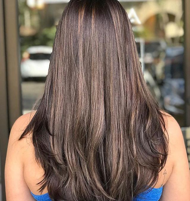 Taking a ride on the cool side! ️️️___________________________#instahair #instabeauty #atthesalon #salonlife #hair #hairspiration #hairsalon #haircolor #hairstyles #hairstyling #haircut #carlsbad #sandiego #sandiegohair #carlsbadhair #aveda #avedacolor #avedaproducts #avedaartist #smellslikeaveda #crueltyfree #botanicals #knowwhatyouremadeof #plazapaseoreal