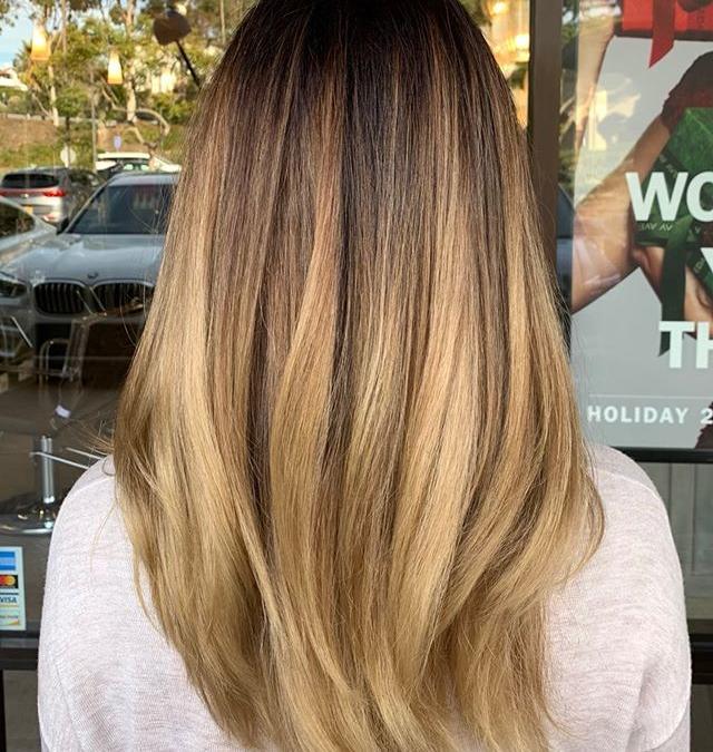 Coffee and Cream Balayage ️___________________________#instahair #instabeauty #atthesalon #salonlife #hair #hairspiration #hairsalon #haircolor #hairstyles #hairstyling #haircut #carlsbad #sandiego #sandiegohair #carlsbadhair #aveda #avedacolor #avedaproducts #avedaartist #smellslikeaveda #crueltyfree #botanicals #knowwhatyouremadeof #plazapaseoreal #beforeandafter #transformation #hairtransformation