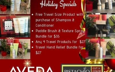 Everyone knows the holidays can be a stressful time, and Pistachio knows just what you and your loved ones need to enjoy the season. Give the gift of calmness, relief, and invigoration with a present from Aveda! ___________________________ #instahair #instabeauty #atthesalon #salonlife #hair #hairspiration #hairsalon #haircolor #hairstyles #hairstyling #haircut #carlsbad #sandiego #sandiegohair #carlsbadhair #aveda #avedacolor #avedaproducts #avedaartist #smellslikeaveda #crueltyfree #botanicals #knowwhatyouremadeof #plazapaseoreal #GiveAveda #AvedaMission