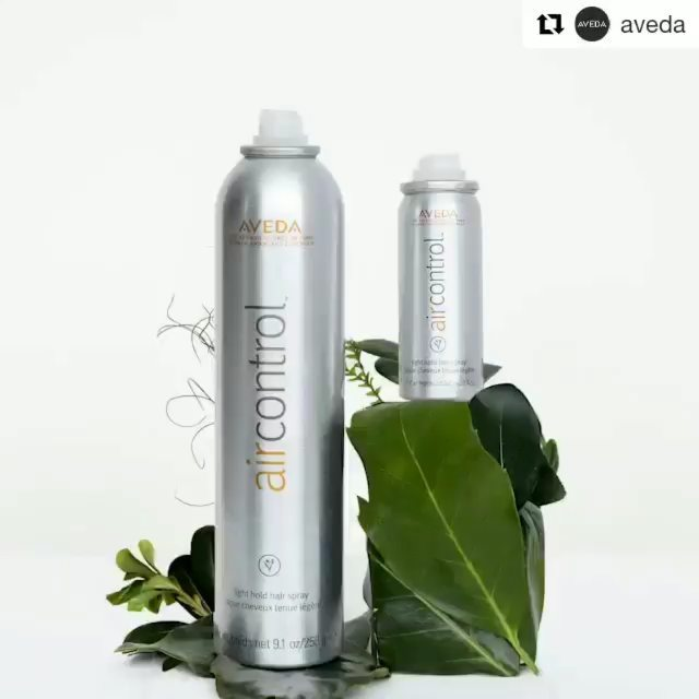 What's better than one Air Control? TWO Air Controls! Pick up an Air Control gift set and get a full-size hair spray for home and an adorable mini for on-the-go so you never have to be without your fix.___________________________ #instahair #instabeauty #atthesalon #salonlife #hair #hairspiration #hairsalon #haircolor #hairstyles #hairstyling #haircut #carlsbad #sandiego #sandiegohair #carlsbadhair #aveda #avedacolor #avedaproducts #avedaartist #smellslikeaveda #crueltyfree #botanicals #knowwhatyouremadeof #plazapaseoreal #GiveAveda #AvedaMission#GiveAveda #present #holiday #repost @aveda