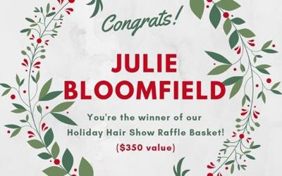 Congratulations Julie!!!? Thank you to all who attending Pistachio's first annual Holiday Hair Show. We can't wait to do it again next year! ___________________________#instahair #instabeauty #atthesalon #salonlife #hair #hairspiration #hairsalon #haircolor #hairstyles #hairstyling #haircut #carlsbad #sandiego #sandiegohair #carlsbadhair #aveda #avedacolor #avedaproducts #avedaartist #smellslikeaveda #crueltyfree #botanicals #knowwhatyouremadeof #plazapaseoreal #rafflewinner #hairshow