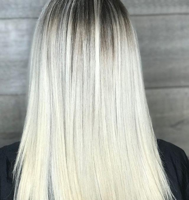 We couldn't wait to get our hands on this new guest's color correction! 🏼‍♀️___________________________#instahair #instabeauty #atthesalon #salonlife #hair #hairspiration #hairsalon #haircolor #hairstyles #hairstyling #haircut #carlsbad #sandiego #sandiegohair #carlsbadhair #aveda #avedacolor #avedaproducts #avedaartist #smellslikeaveda #crueltyfree #botanicals #knowwhatyouremadeof #plazapaseoreal #colorcorrection