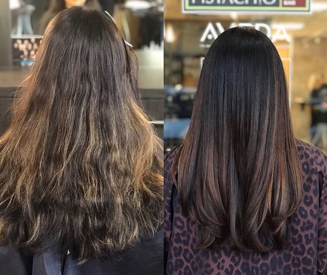 While highlights give you a subtle new edge, an all-over color change offers a head-turning transformation.___________________________#instahair #instabeauty #atthesalon #salonlife #hair #hairspiration #hairsalon #haircolor #hairstyles #hairstyling #haircut #carlsbad #sandiego #sandiegohair #carlsbadhair #aveda #avedacolor #avedaproducts #avedaartist #smellslikeaveda #crueltyfree #botanicals #knowwhatyouremadeof #plazapaseoreal #transformation #beforeandafter