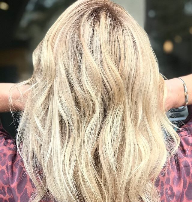 Beachy blonde will never go out of style! ___________________________#instahair #instabeauty #atthesalon #salonlife #hair #hairspiration #hairsalon #haircolor #hairstyles #hairstyling #haircut #carlsbad #sandiego #sandiegohair #carlsbadhair #aveda #avedacolor #avedaproducts #avedaartist #smellslikeaveda #crueltyfree #botanicals #knowwhatyouremadeof #plazapaseoreal