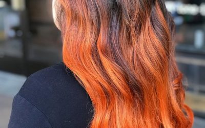 That girl is on fire!  ___________________________#instahair #instabeauty #salon #hair #hairspiration #hairsalon #haircolor #hairstyles #hairstyling #haircut #carlsbad #sandiego #sandiegohair #carlsbadhair #aveda #avedacolor #avedaproducts #avedaartist #smellslikeaveda #crueltyfree #botanicals #knowwhatyouremadeof #avedamission#plazapaseoreal #fantasycolor