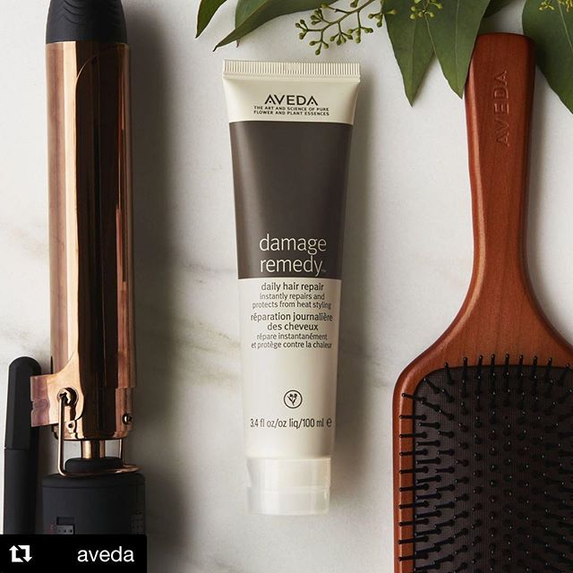 Don't start your style without #DamageRemedy Daily Hair Repair. It INSTANTLY repairs damage and protects from heat styling with naturally derived ingredients.___________________________#instahair #instabeauty #salon #hair #hairspiration #hairsalon #haircolor #hairstyles #hairstyling #haircut #carlsbad #sandiego #sandiegohair #carlsbadhair #aveda #avedacolor #avedaproducts #avedaartist #smellslikeaveda #crueltyfree #botanicals #knowwhatyouremadeof #avedamission #plazapaseoreal #styledbyaveda #repost @aveda