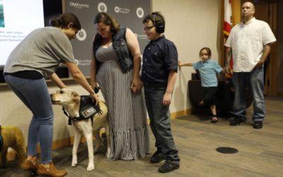 Autism companion dogs 'graduate' into service