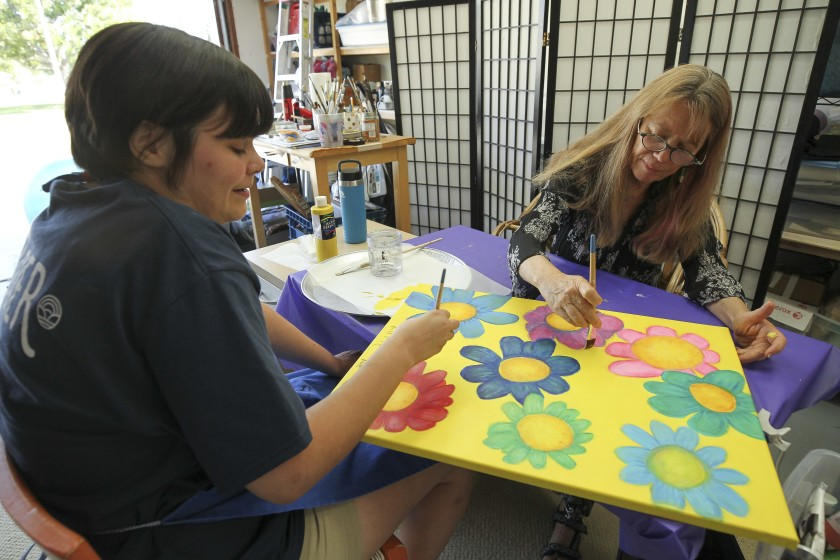 'Radically Inclusive' project gives career training to young artists with autism