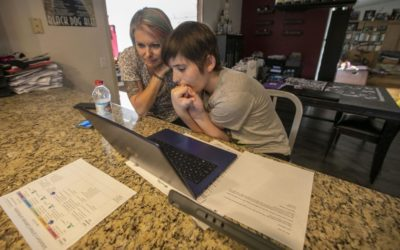 Parents of autistic children navigate distance learning during school closures – The San Diego Union-Tribune