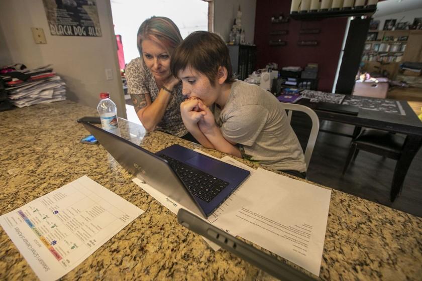 Parents of autistic children navigate distance learning during school closures – The San Diego Union-Tribune